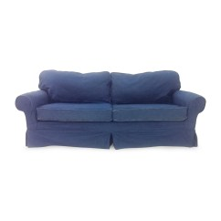 Blue Denim Sofa Bed Easy Stretch Covers Energywarden