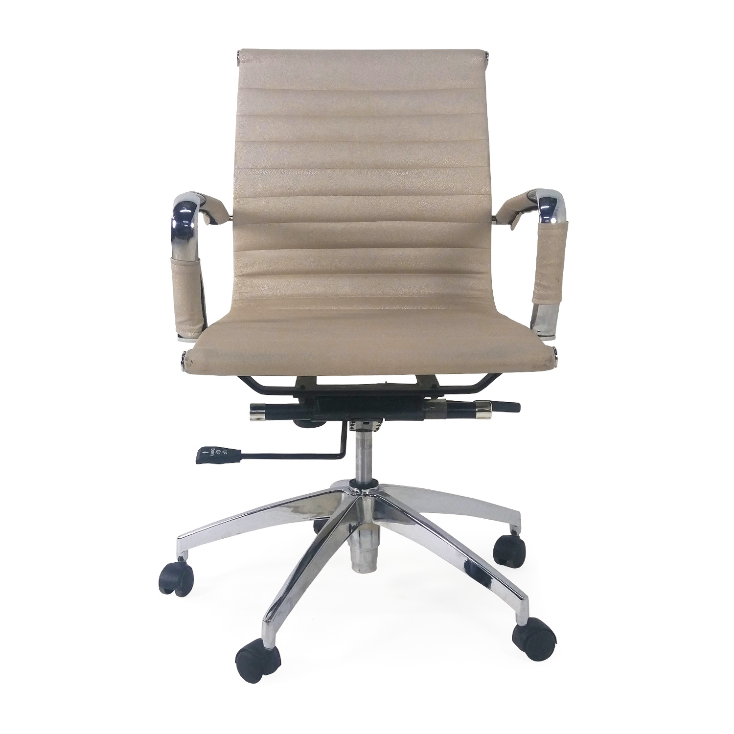 Rolling Desk Chairs 71 Off Adjustable Black Office Desk Chair Chairs