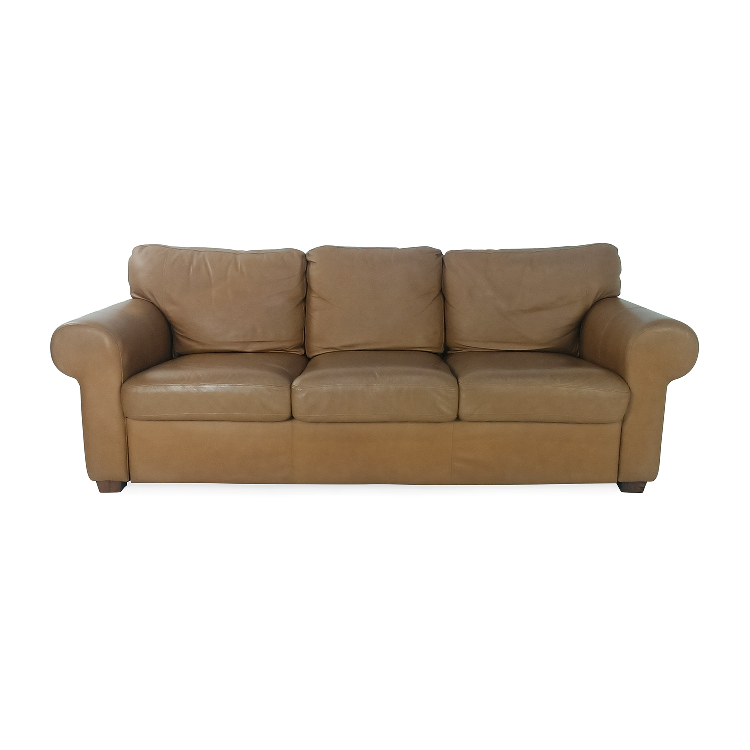 crate and barrel leather sofa bed simplicity sofas locations 89 off george smith classic english style