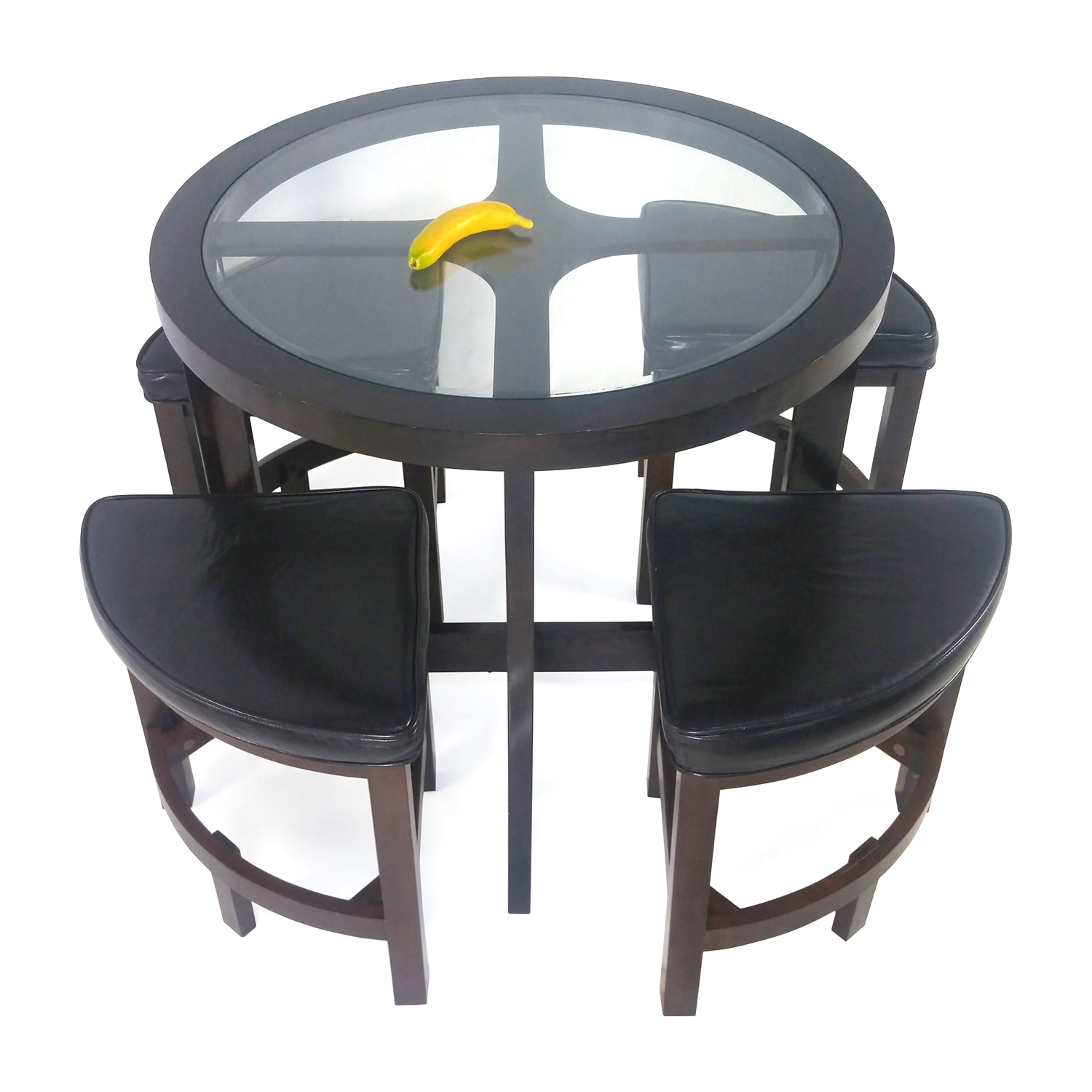 73 OFF  Amazon Circular Dinette with 4 chairs  Tables