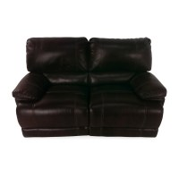 50% OFF - Bobs Furniture Bobs Furniture Reclining Loveseat ...