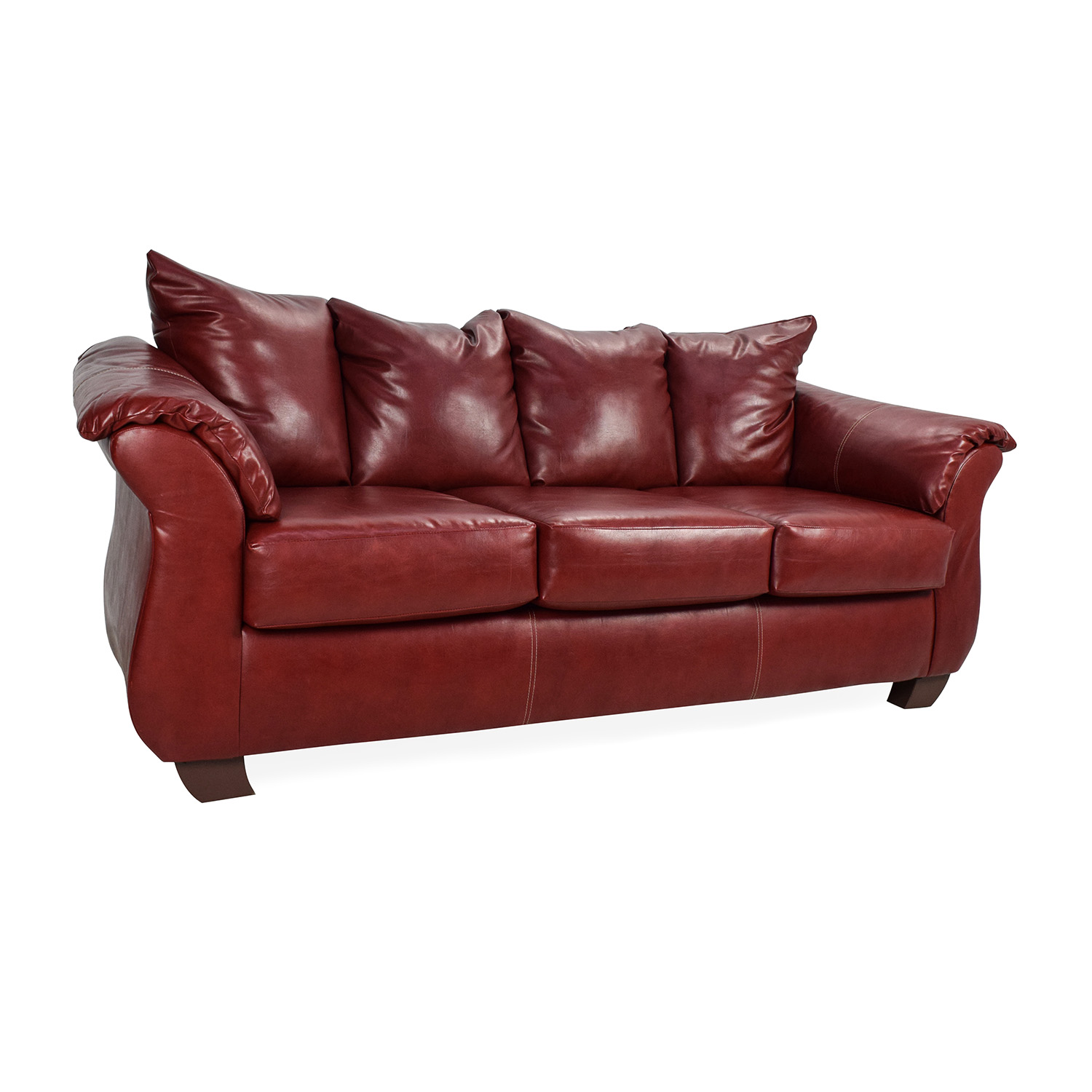 red leather sofas and chairs black sofa furniture 72 off haymarket sierra