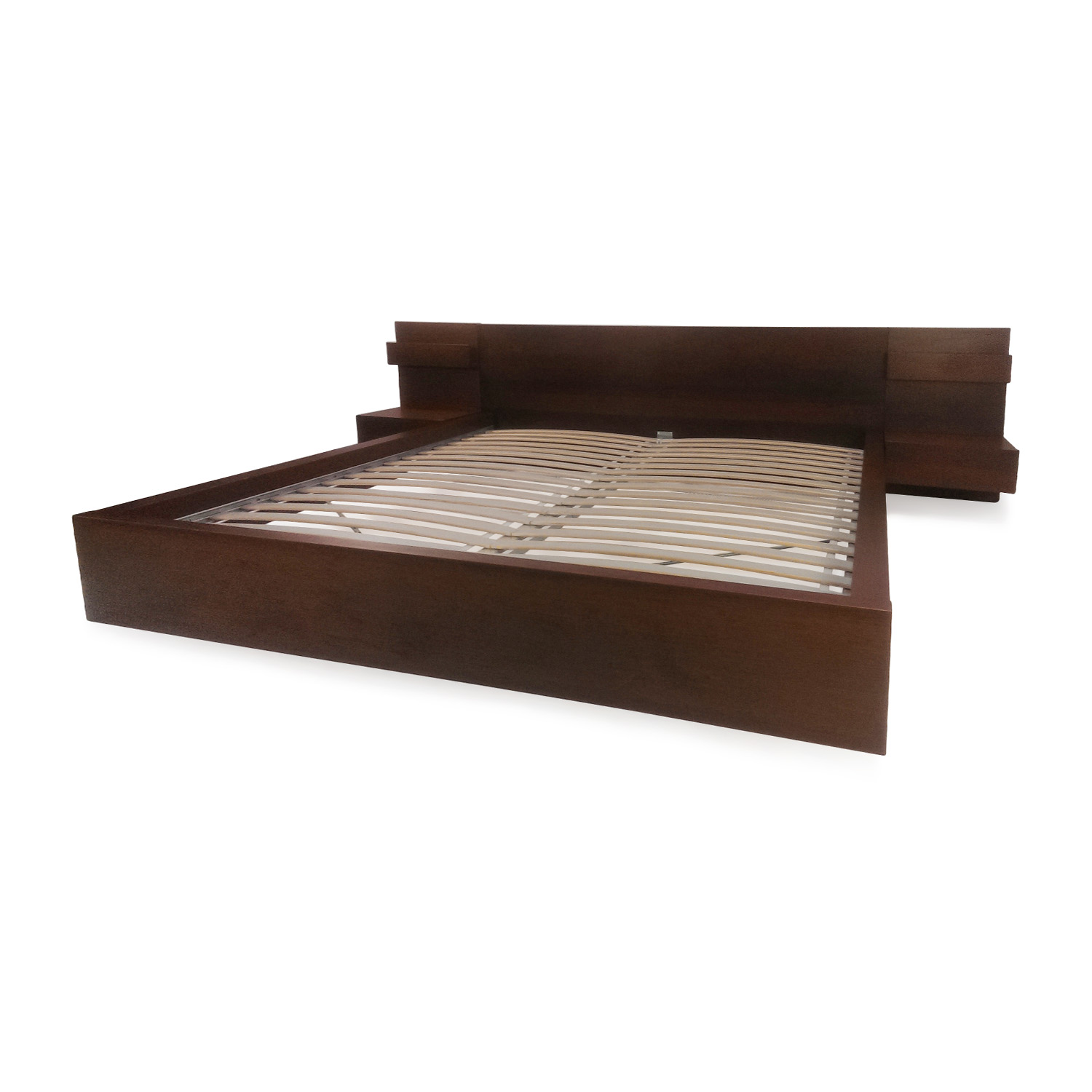 81 Off Ikea King Bed Frame With Headboard Beds