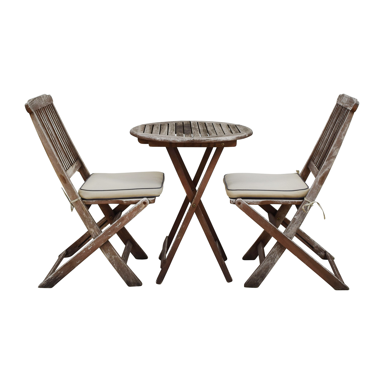 Outside Tables And Chairs 54 Off Broyhill Solid Wood Round Dining Set Tables