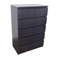 45% OFF - IKEA IKEA Malm Tall 6-Drawer Dresser / Storage