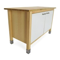 82% OFF - IKEA Kitchen Block Cabinet Table / Storage