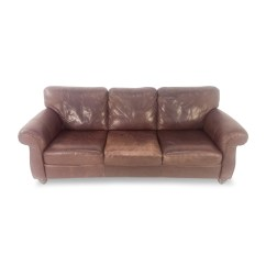 Secondhand Leather Sofas Arch Sofa Floor Lamp Second Hand Brown Danish