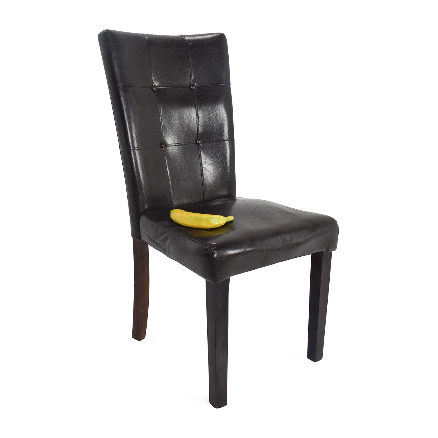 kirklands dining chairs black chair 49 off kirkland 39s leather accent