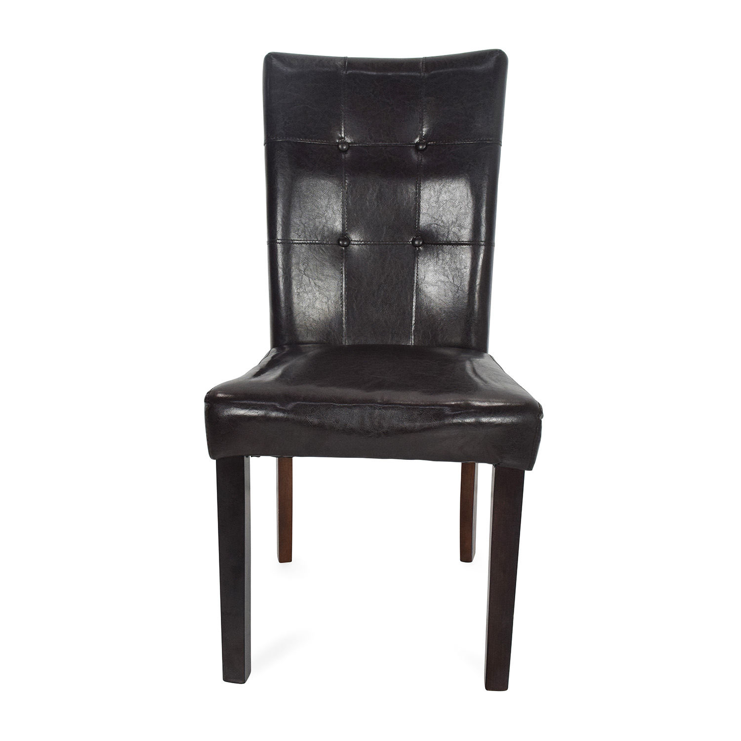 kirklands dining chairs braun chair lift parts 49 off kirkland 39s leather accent