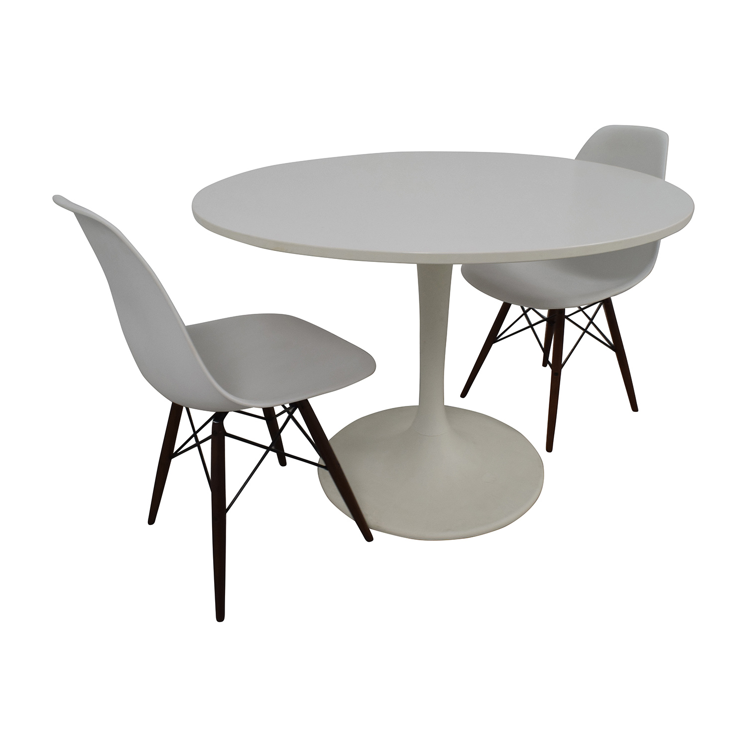 Tulip Table And Chairs 53 Off Vortex Tulip Table And Vortex Chair Set Tables