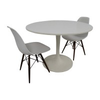 53% OFF - Vortex Tulip Table and Vortex Chair Set / Tables