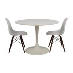 Tulip Table And Chairs Wheelchair Uber 53 Off Vortex Chair Set Tables