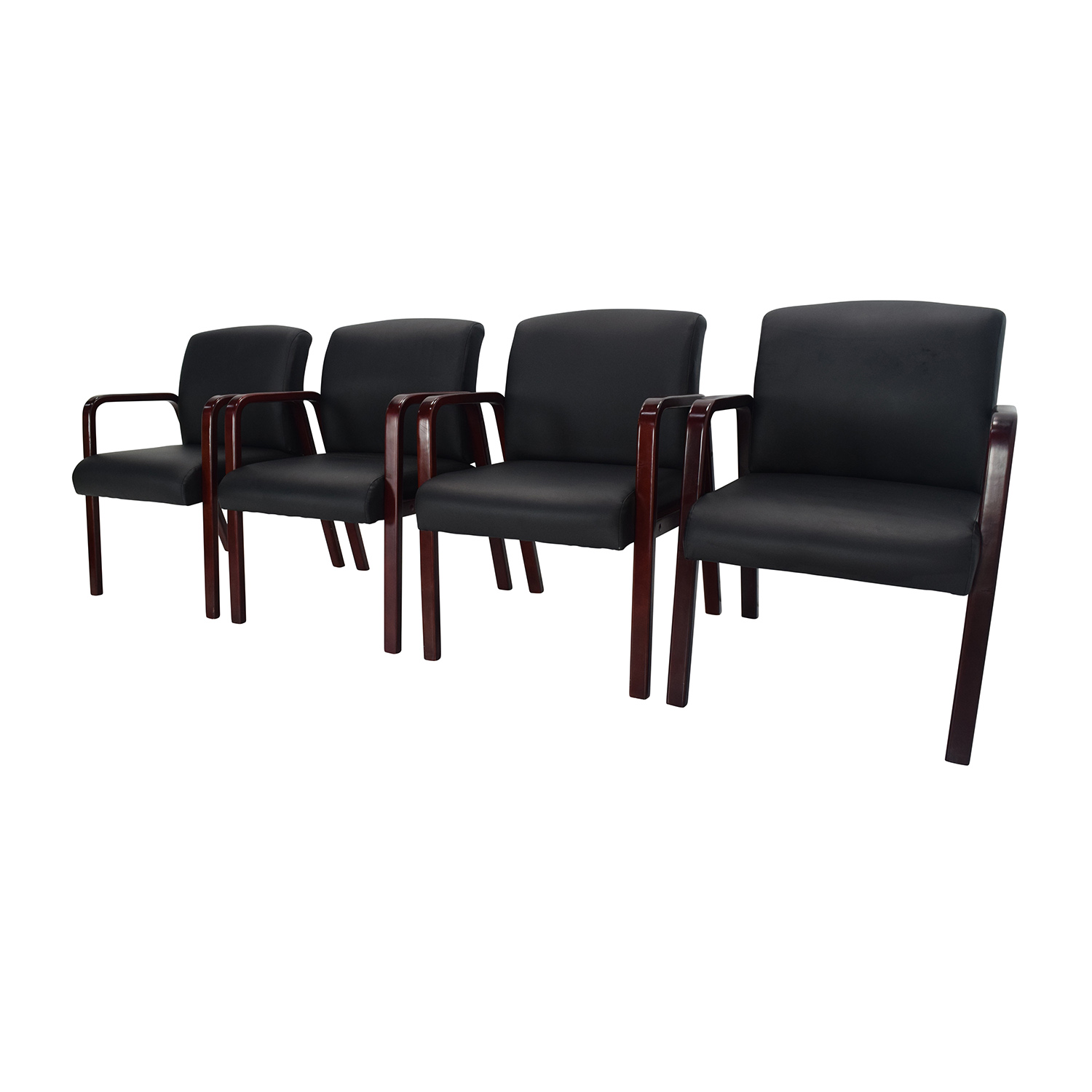 Office Chairs Office Max 89 Off Office Max Set Of 4 Office Chairs Chairs