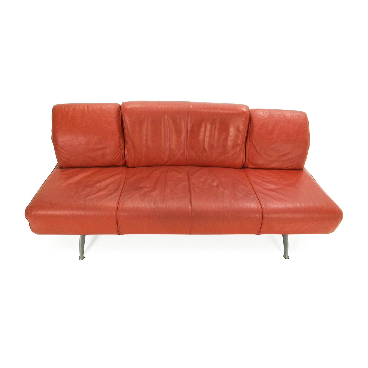 red leather sofas and chairs sleeper sofa to fit through narrow doorway 82 off team by wellis