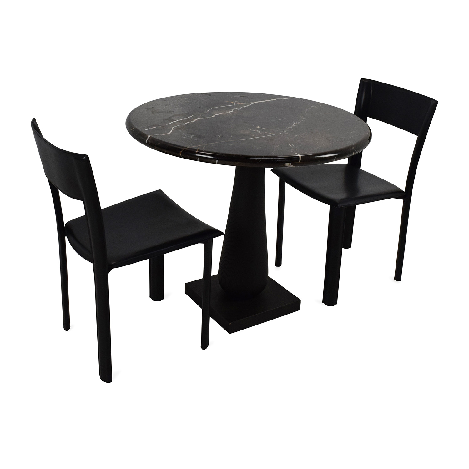 Used Table And Chairs 69 Off Marble Dinner Table And Chairs Tables