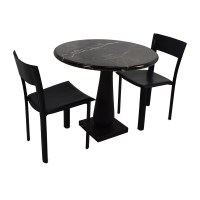 69% OFF - Marble Dinner Table and Chairs / Tables