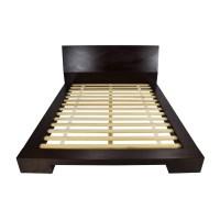 dark wood queen bed coupon