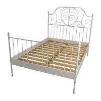 74% OFF - IKEA Ikea Leirvik Full Size Bed Frame / Beds