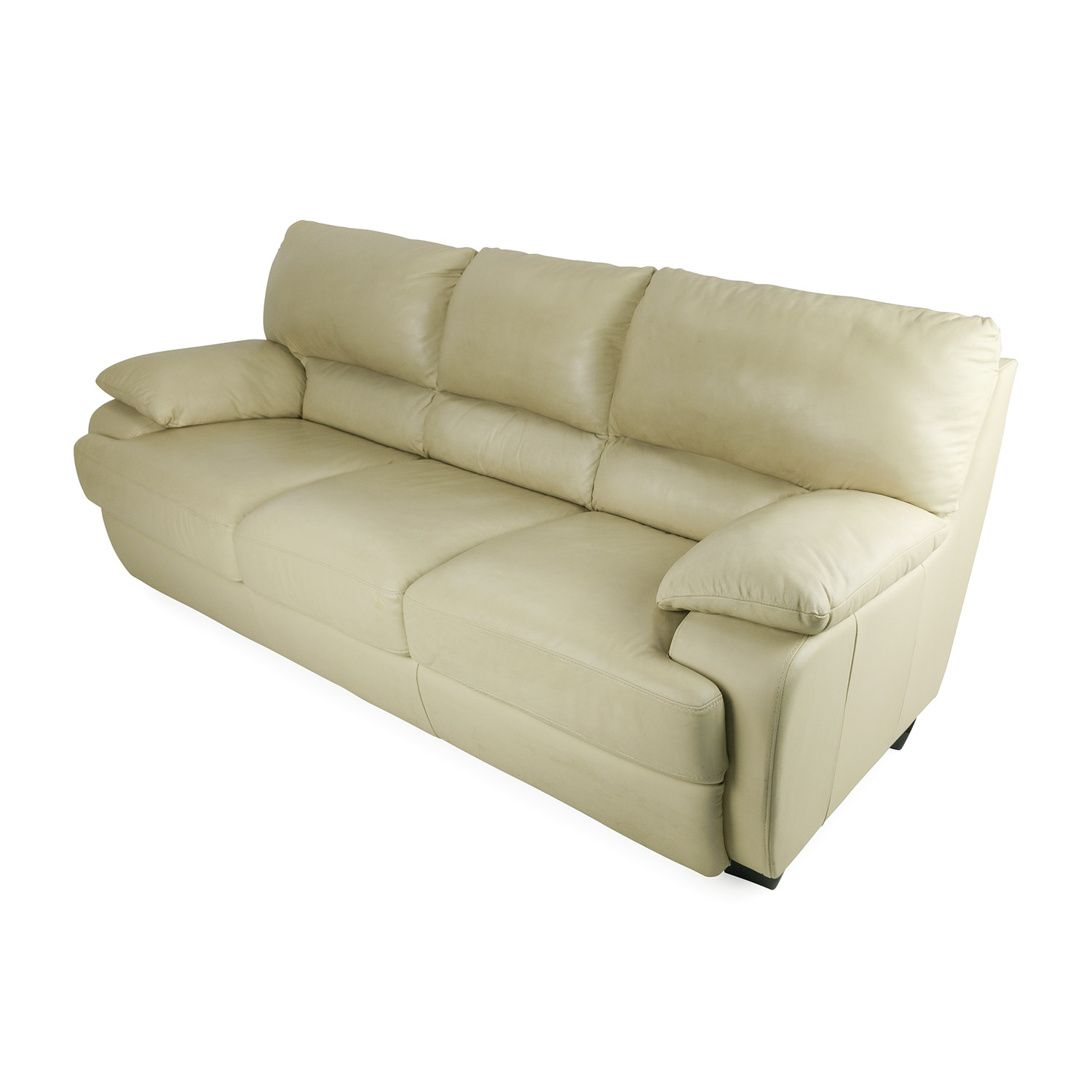 tan leather sofa and loveseat how to decorate your with a throw 75 off couch sofas