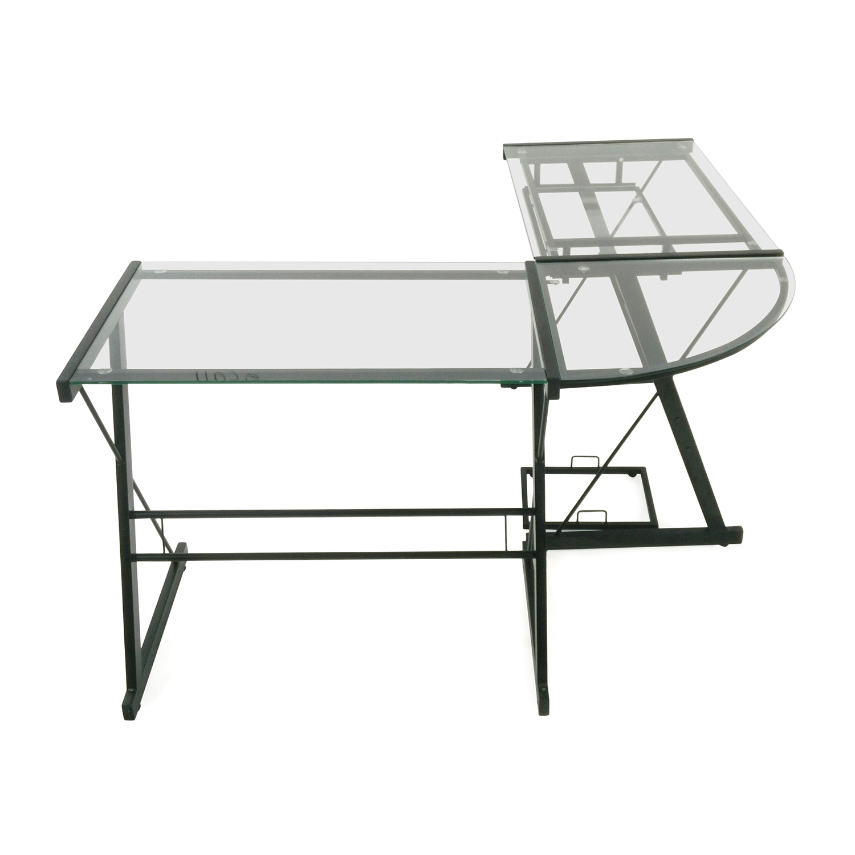 White Desk Table Target  Hostgarcia