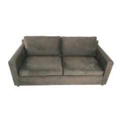 Crate And Barrel Verano Sofa Smoke Karlstad Legs Uk Sofas Axis Ii Light Grey Sleeper
