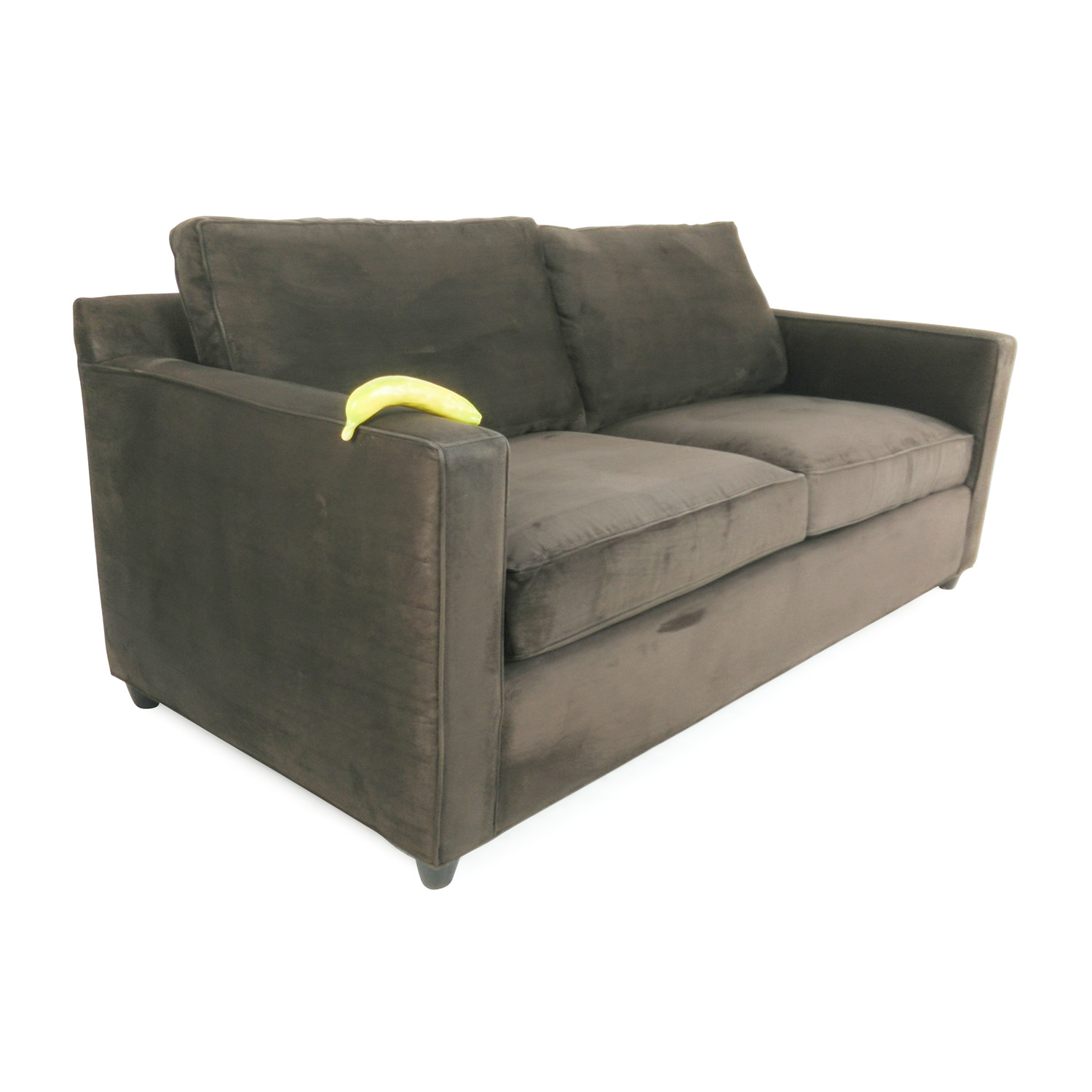 crate and barrel davis sofa leather comfort cloud bed pad 57 off sofas