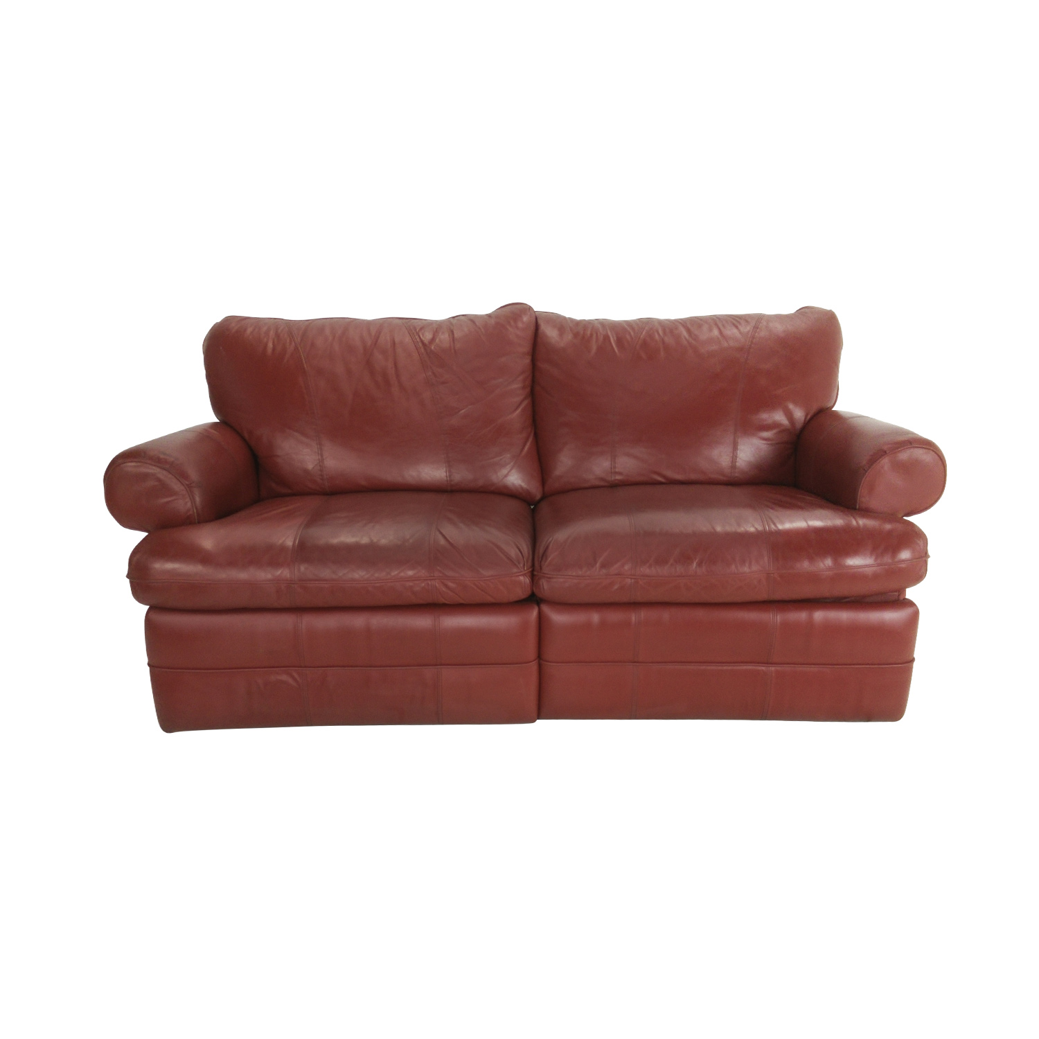 84 OFF  LaZBoy LaZBoy Red Recliner Couch  Sofas