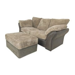 Sofa And Ottoman World Airoli 81 Off Unknown Brand Brown Bed Sofas