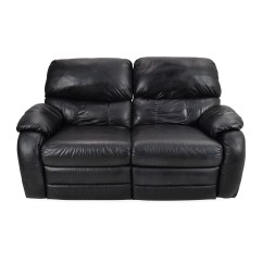 Leather Sofa Furniture Stores Nyc Mobilier Bed New Zealand 68 Off Black Reclining 2 Seater Sofas
