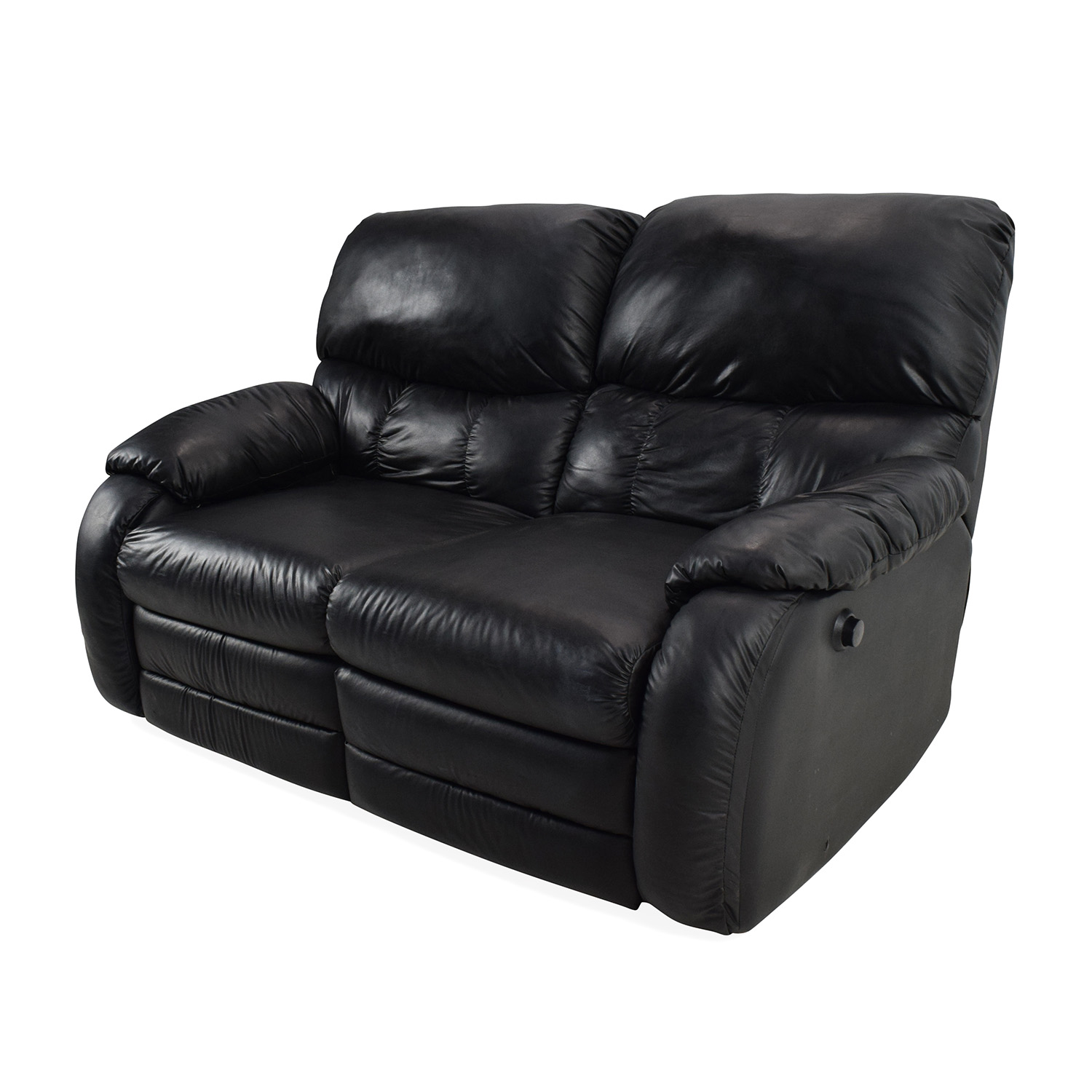 recliner 2 seater sofas leather camo reclining sofa 68 off black