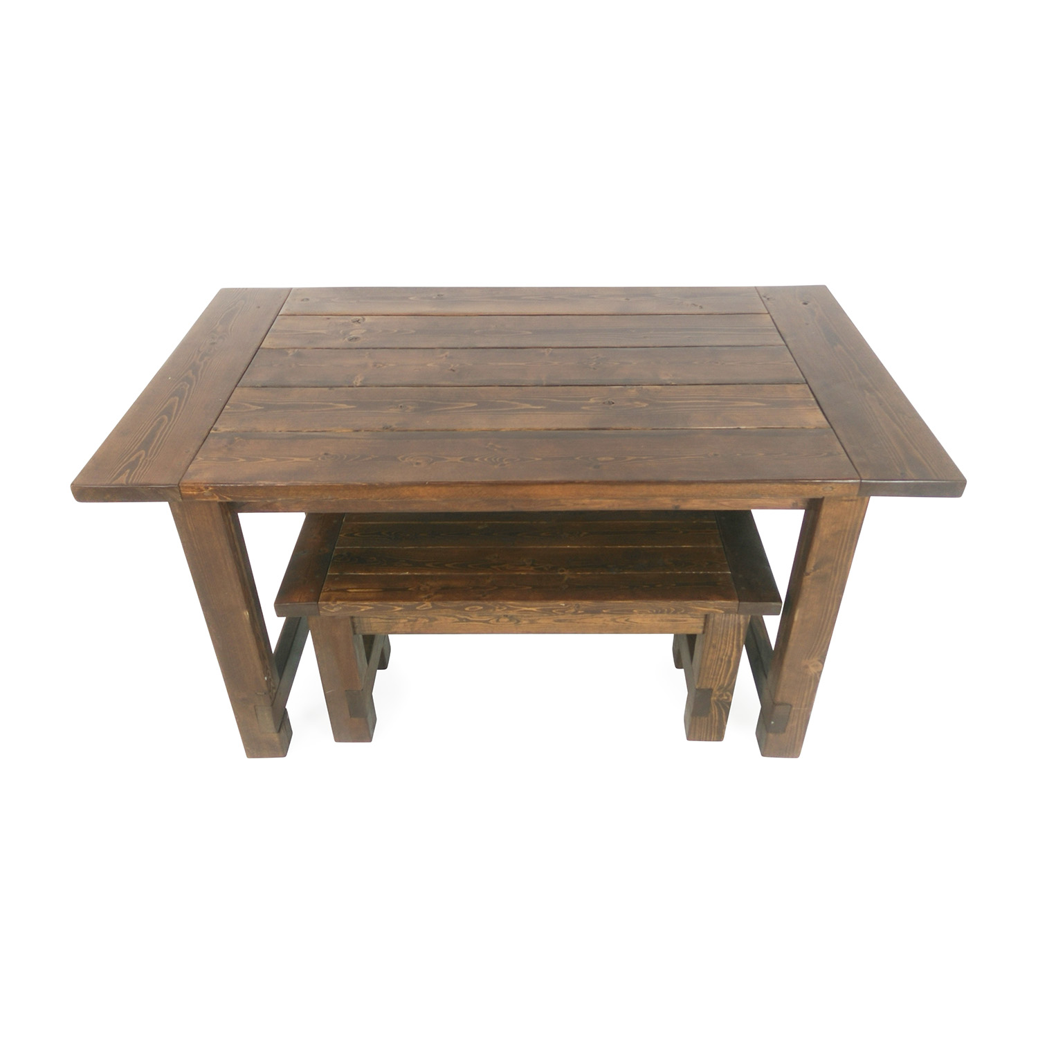 farmhouse table and chairs with bench 49ers football helmet chair 78 off north carolina