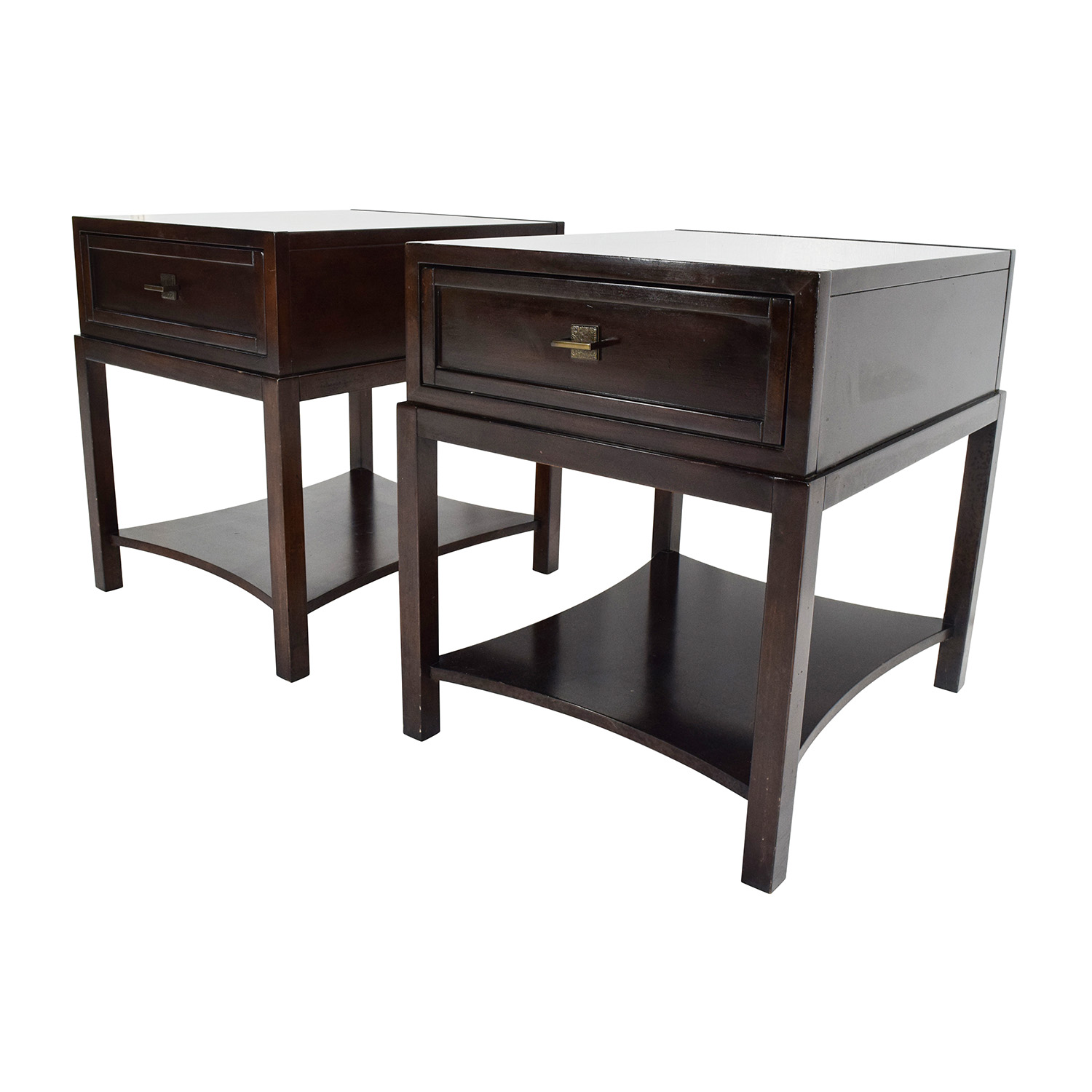 drexel sofa table cleaning semi aniline leather console country french by