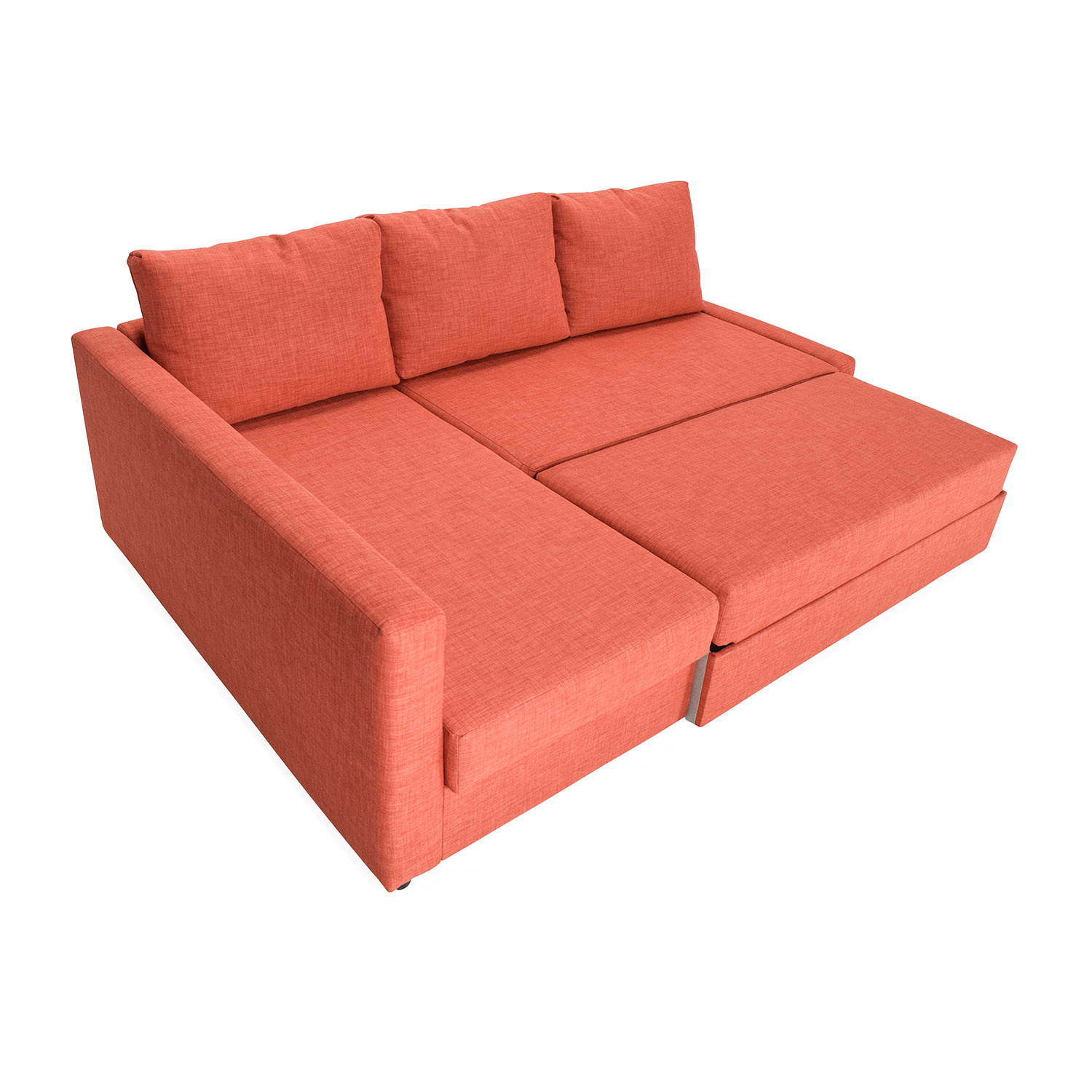 friheten sofa couch marshmallow flip open canada 49 off ikea bed with chaise sofas