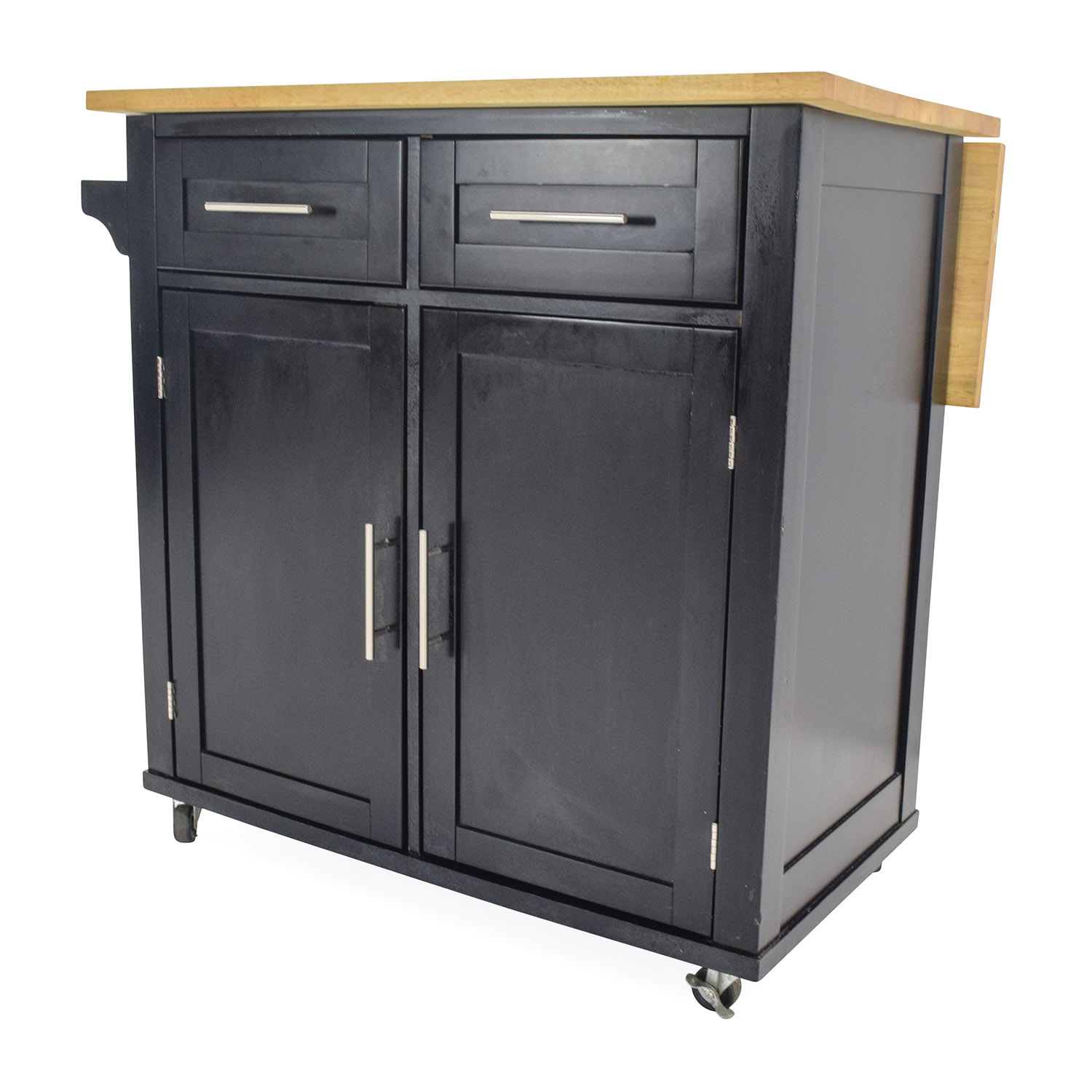 kitchen island discount drawer cabinet base 54 off crate and barrel