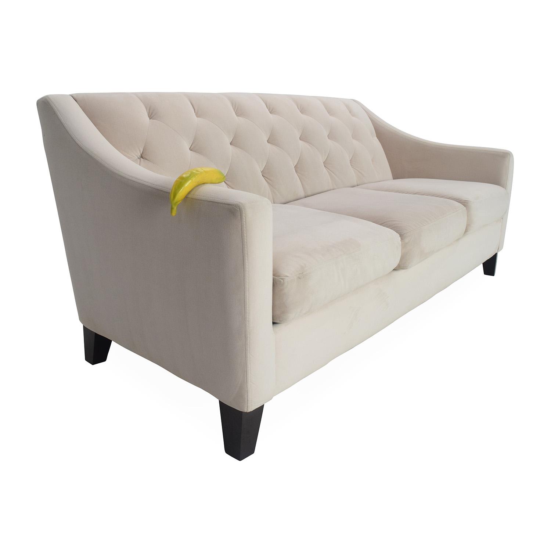 emma tufted sofa grey bed with storage excellent decenni