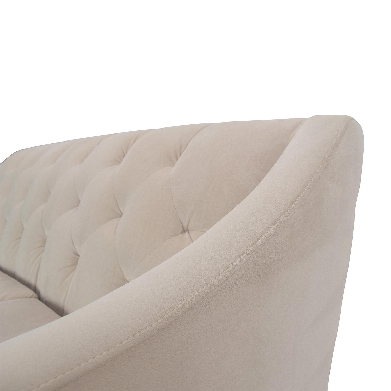 chloe on tufted velvet sofa leather whitener 58 off max home furniture macy 39s sofas