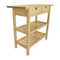 56% OFF - IKEA Forhoja Kitchen Cart / Tables