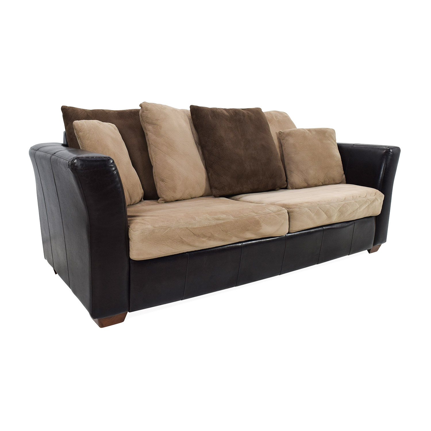 jennifer convertibles leather reclining sofa round chair 81 off