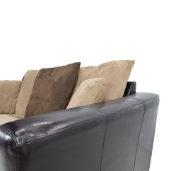 Loveseat Sleeper Sofa Leather Faux Paint 81% Off - Jennifer Convertibles ...