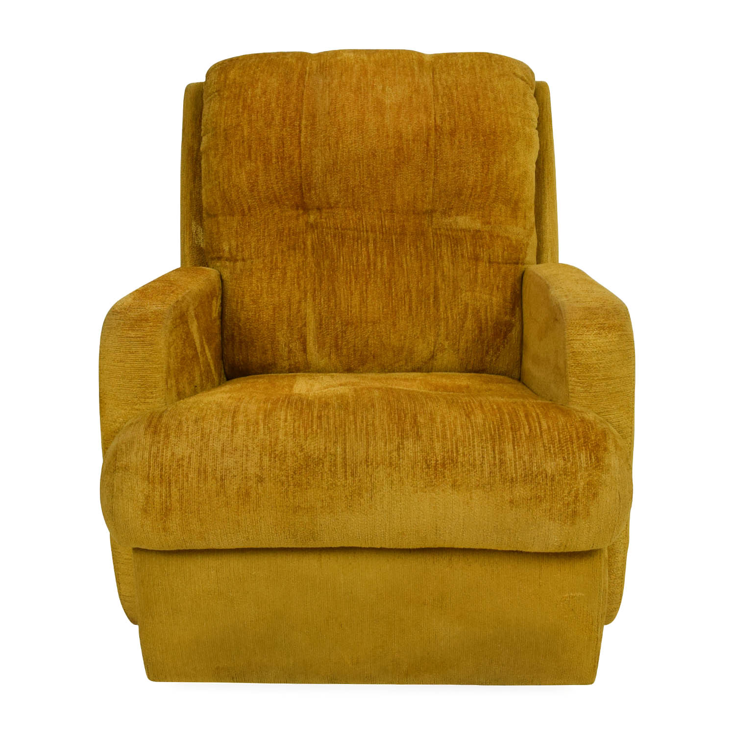 yellow chairs for sale hanging chair materials 75 off unknown brand recliner