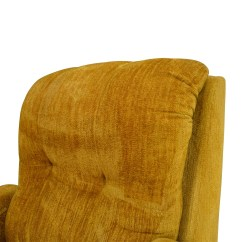 Recliner Accent Chairs Ll Bean Rocking Chair 75% Off - Unknown Brand Yellow /
