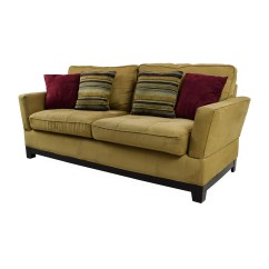 Pictures Of Sofas Glam Sectional Sofa 78 Off Jennifer Convertibles Tan