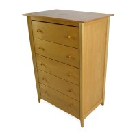 54% OFF - Unknown Brand Birch Wood Dresser / Storage