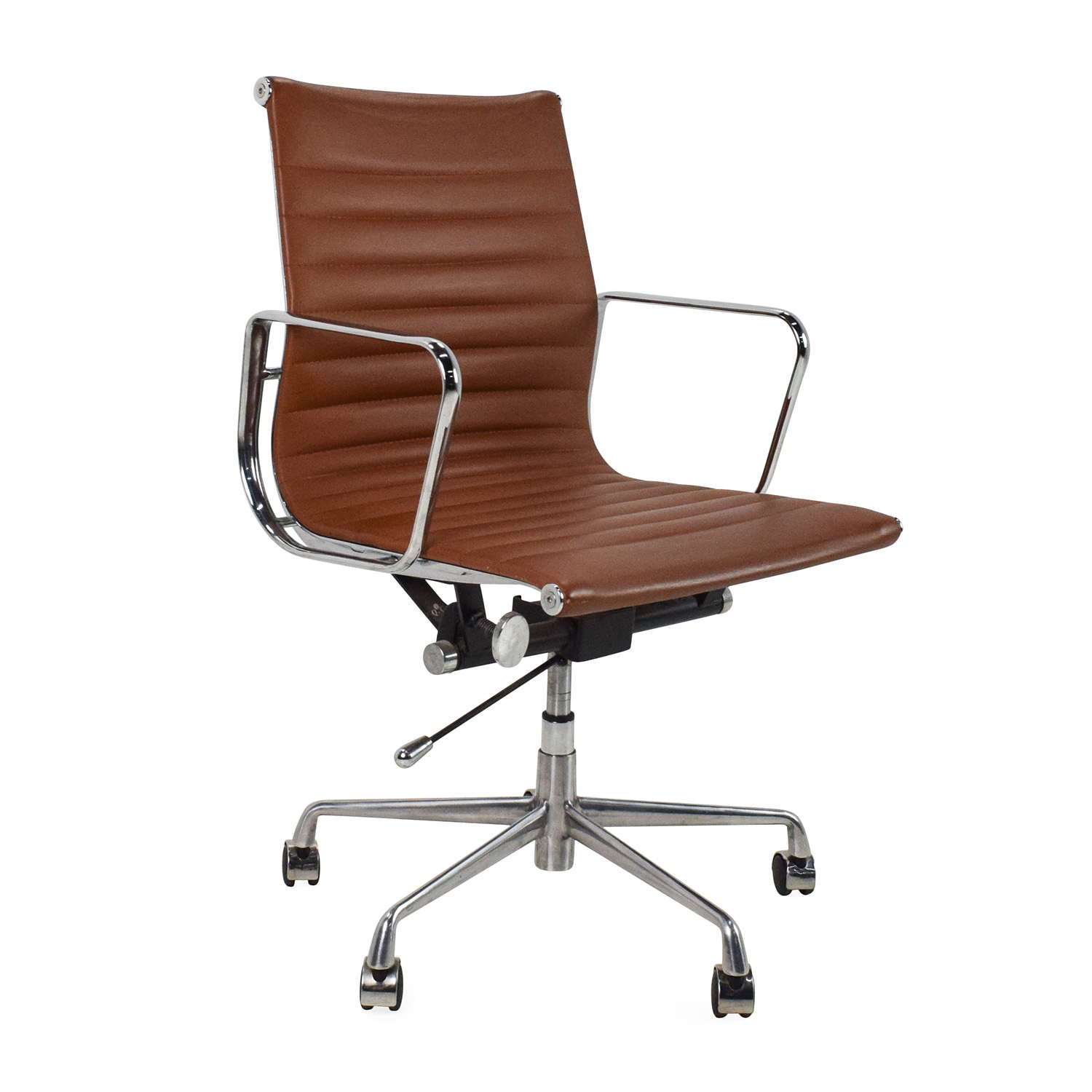 ergonomic chair brand twin sleep 68 off unknown chrome office chairs