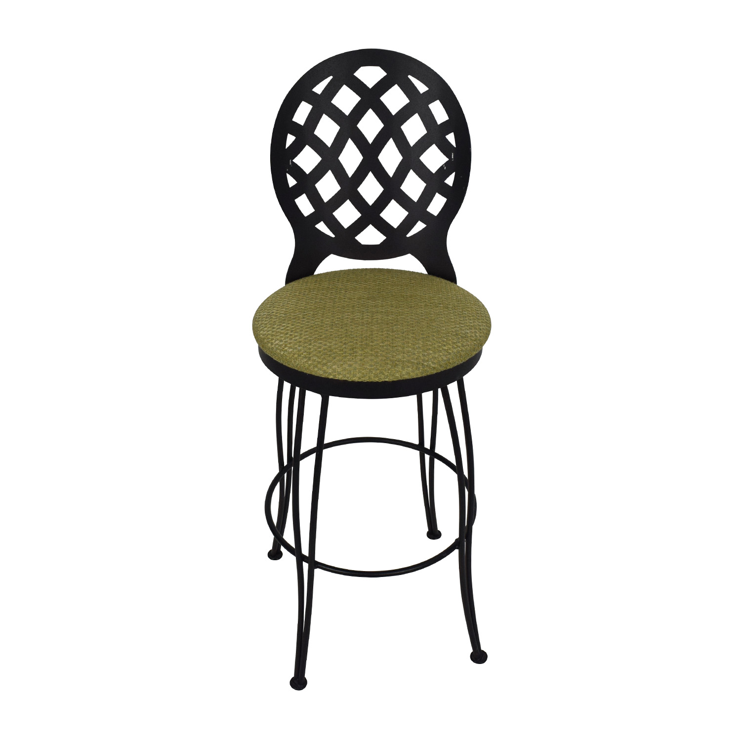 stool chair second hand wood frame beach chairs 90 off trica inc trice swivel bar shop stools