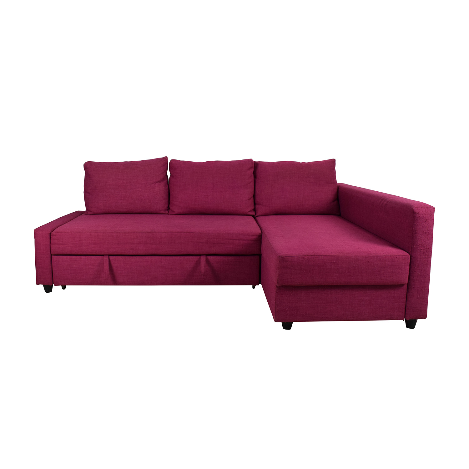 pink sofa furniture kmart futon bed ikea leather sleeper faux couches chairs