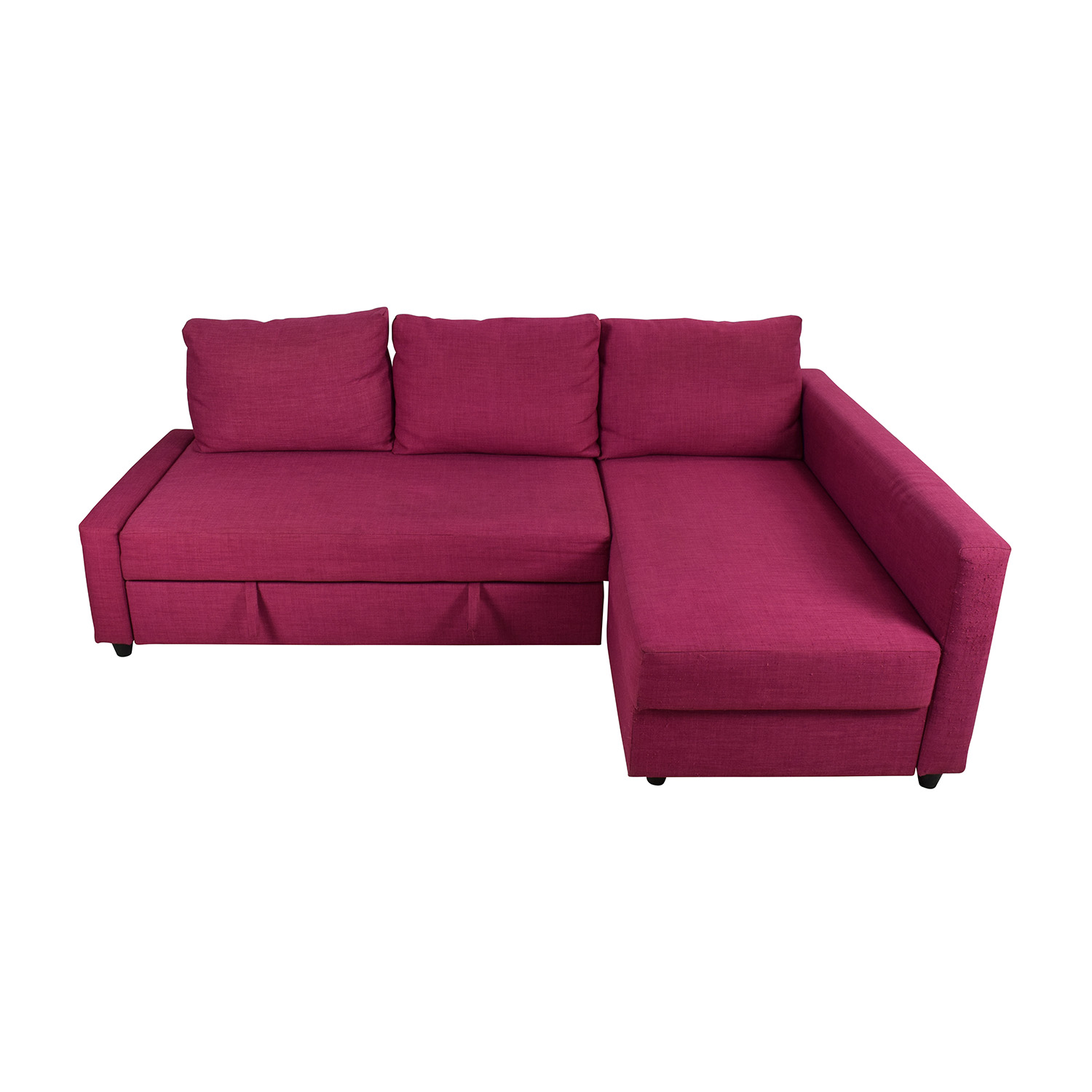 ikea sofa sleeper sectional kid sofas and stuff 66 off friheten pink