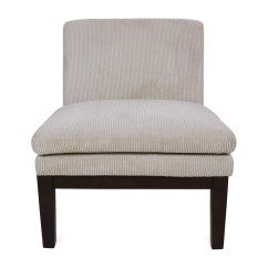 White Leather Slipper Chair Replacement Cushions For Papasan Australia West Elm Designer Love