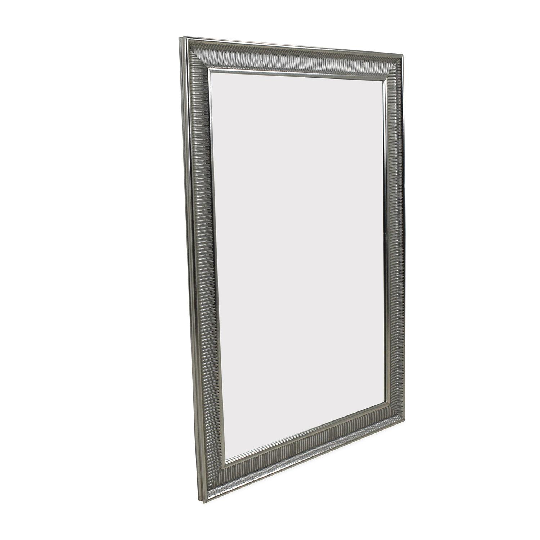 59 Off Ikea Songe Silver Mirror Decor