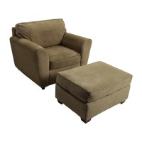 56% OFF - Bauhaus Bauhaus Armchair with Ottoman / Chairs